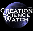 Creation Science Watch Logo