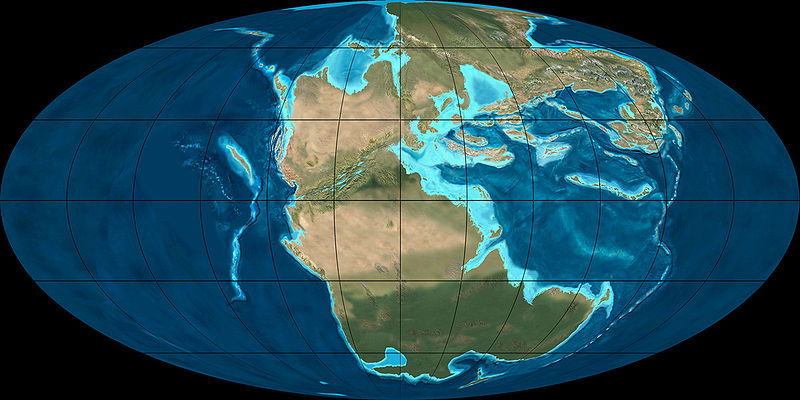 Online Earth History Curriculum - Chapter 3, Lesson 15 - The ... on world 300 million years ago, world map in 50 years, world map kilometers, the earth map 4.5 000 years ago, world map 300 years of the future, map of israel 1000 year ago, world map during jurassic time period, brains of millions years ago, world population.1 000 years ago, 4.6 billion years ago, maps of 50 years ago, world 200 million years ago, trillion years ago, 3.4 billion years ago, world in 100 million years, world map long time ago,
